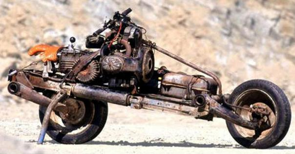 Motorcycle-out-of-the-car